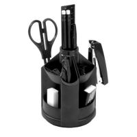 Набор офисный 12 предметов Mini Desk Fregatte черный 77